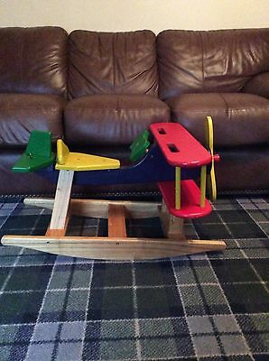 Ride-on Wooden Airplane  For Toddlers