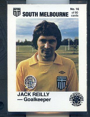 1977 Philips Soccer League Jack Reilly South Melbourne