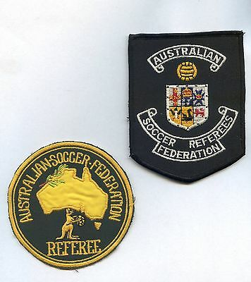 Australian Soccer Federation Referee Patches