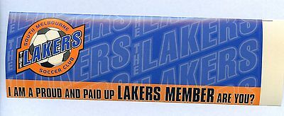 South Melbourne Lakers Sticker