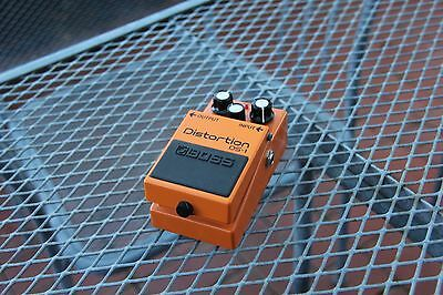 Boss DS-1  Effect Pedal Distortion Used & Working