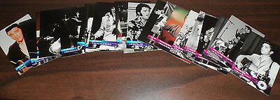 Elvis Presley - The Elvis Collection Complete Trading Card set of 50 Cards Mint