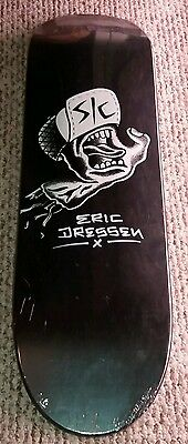 ERIC DRESSEN SIGNED SANTA CRUZ skateboard  DECK LIMITED to  250