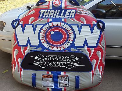 THRILLER WOW Towable Tube with ropes and fittings