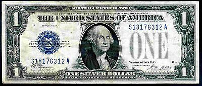 USA. Silver Certificate, One Dollar, S18176312A, series 1928A, Good Fine.