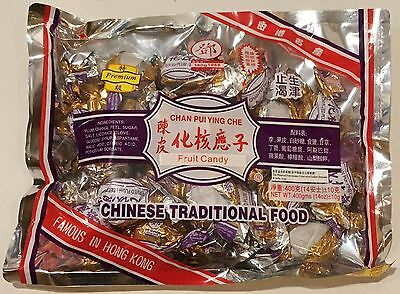Tang Hoi Kee Premium Chan Pui Ying Che Preserved Plum (Seedless), 14 oz (400gms)