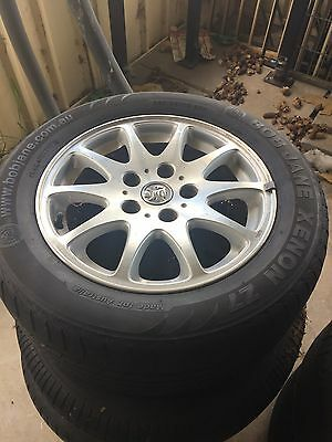 Holden Commodore Calais Wheels & Tyres, 4 PICK UP ONLY