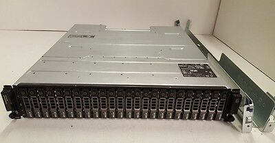 Dell MD3220i 1Gb iSCSI SAN Array 7x 600GB 10K 17x 500GB 7.2K SAS Rails