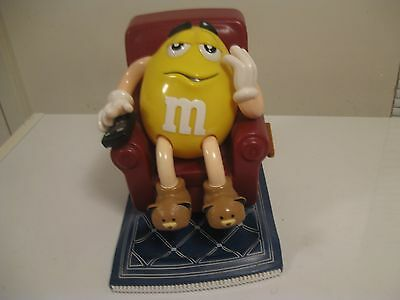 Collectible M&m In Chair Candy Dispenser