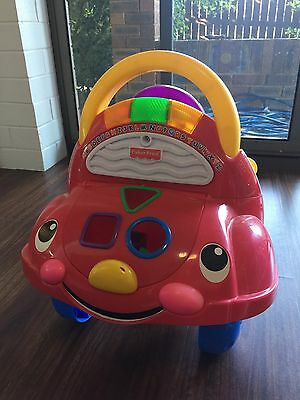 Fisher-Price Laugh & Learn Walk 'N' Drive Learning Car