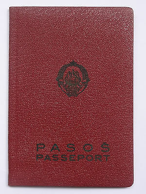 Yugoslavia 1961 Complete Travel Document PASSPORT For Old Woman