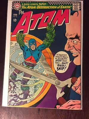 The Atom #24, Silver Age Comic Book  DC, VF+, 8.5