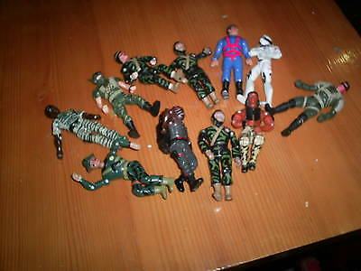 11 action figure commando men