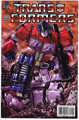Transformers: Infiltration #0 - Cover D Optimus Prime - Idw 1St Print 2005