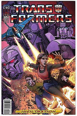 Transformers: Infiltration #2 - 'explosion' Cover D - Idw Comics 1St Print 2006