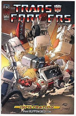 Transformers: Infiltration #1 - Ruppsworlds Exclusive Variant - Idw 2006