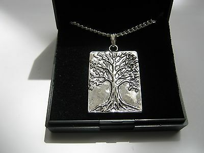 20 x New  Silver Plated 18 inch Necklaces with Tree of Life Pendants & gift box