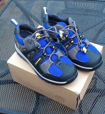 BNIB Youth's TIMBERLAND Oxford Gore-tex Zip Trail Shoes. UK 1.5 8972R.