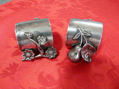 Vintage Silver Plated Napkin rings