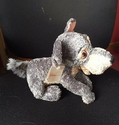 Disney Store ~  Tramp Soft Toy From Lady And The Tramp