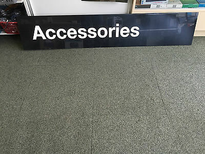 Accessories Advertising Sign For Shop Display Retail