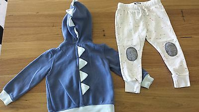 Boys size 2 Indie ABCD tracksuit.