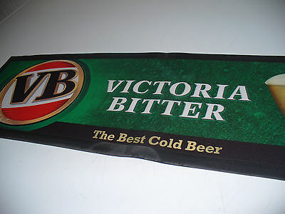 Vintage Vb Rubber Backed  Bar Mat Never Used 10 Years Old
