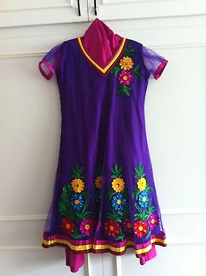 Girls Anarkali Outfit Size 22