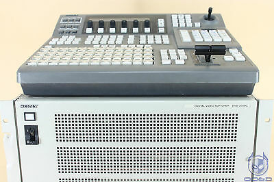 Sony BKDS-2010 Switcher Control Panel + DVS-2000C Digital Video Switcher (Set)