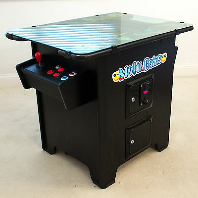 Cocktail Arcade Machine Cabinet 60 in 1 Retro Gaming CRT 2 Player Man Cave Xmas