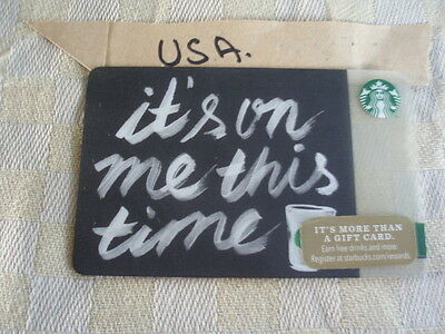 USA new Starbucks 6103  Its on me this time