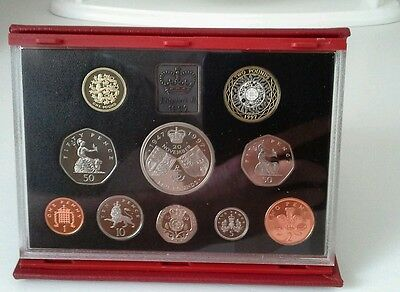 uncirculated british coin set