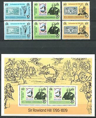 NEW HEBRIDES 1979 Stamps on Stamps Mint MNH
