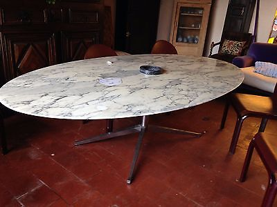 table design florence knoll ancienne grand modele
