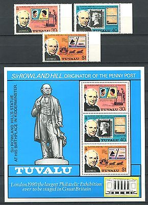 TUVALU 1979 Stamps on Stamps Mint MNH