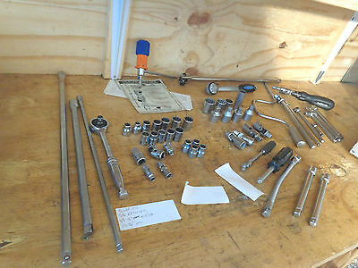 snap-on Britool king dick tool lot