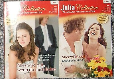 2 x Julia Collection - Miniserie; 3 Bestseller je Band