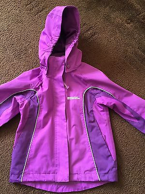 MOUNTAIN WAREHOUSE Girls Purple Coat Size 5-6 Years