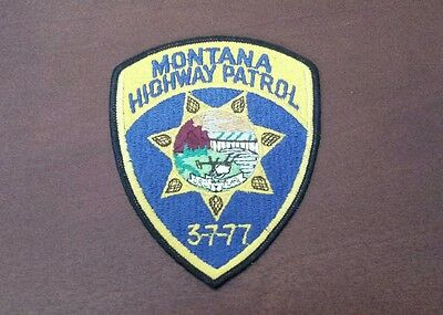 Montana Highway Patrol Police Shoulder Patch
