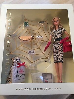Barbie Charlotte Olympia gold label barbie nrfb