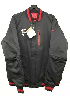 Mens Nike Nfl Atlanta Falcons American Football Reversible Padded Jacket Xl
