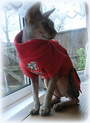 CHRISTMAS COSTUME, WINTER clothes for a Sphynx cat, winter pet clothes HOTSPHYNX