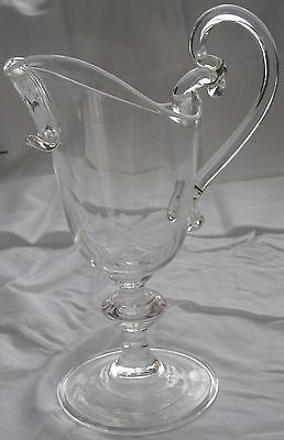 Baccarat Clear Crystal Pitcher