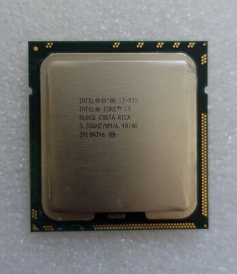 Intel Core i7-975 Extreme Edition 3.33GHz - Socket 1366 Processor CPU
