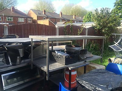 Stainless Steel Kitchen Prep Table / Commercial, Catering, Prep, Various Sizes