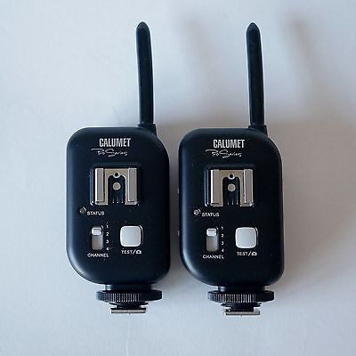 Two - Calumet Pro Series CF0085 4-channel wireless transceiver