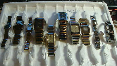 Trade Only Job Lot Of 10 X  Mixed Tungsten  Watches 100% Gen
