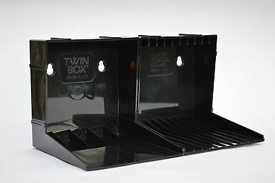 Modular CD storage racks - 14 boxes for single and double CDs
