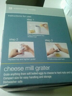 Vintage Cheese Grater / Spice Grinder Multi-Grater home essentials
