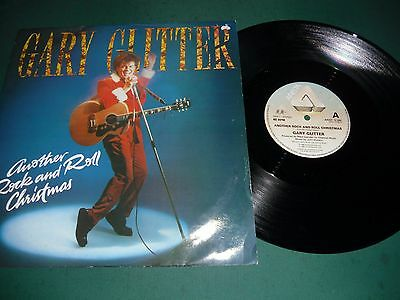 """Gary Glitter 12"""" Single - Another Rock And Roll Christmas"""